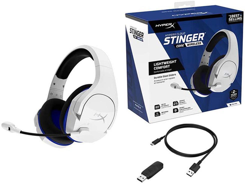 El nuevo 'HyperX Cloud Stinger Core Wireless' ya se encuentra disponible en nuestro mercado.