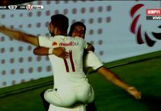 Universitario vs. Huracán: Alexander Succar puso el 2-1 para el equipo crema [VIDEO]