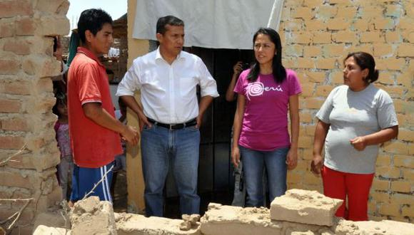 Verificó daños en Ica. (Andina)