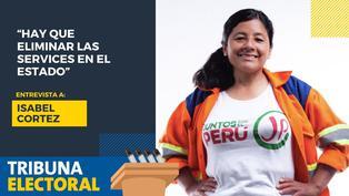 Isabel Cortez candidata al Congreso de Juntos por el Perú