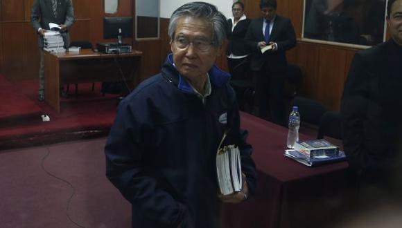 Poder Judicial declaró improcedente revisión de condena de Alberto Fujimori. (Nancy Dueñas)