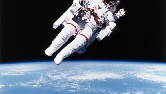 Bruce McCandless en el espacio. (Getty Images)