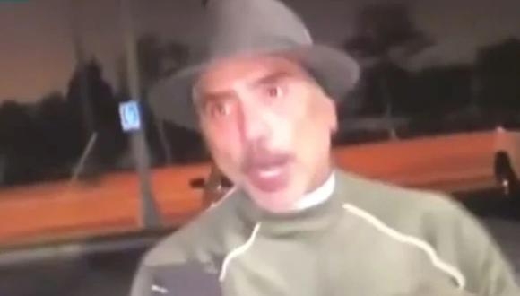 El cantante Alejandro Fernández amenazó a la reportera con demandarla si publicaba el video. (Foto: Captura de video El Gordo y la Flaca)