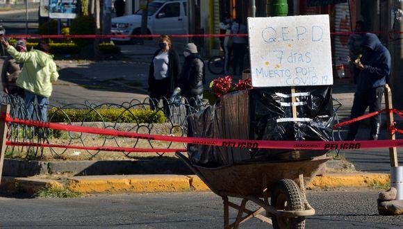América Latina y el Caribe superaron este miércoles los 150.000 fallecidos por coronavirus. (Foto: DIEGO CARTAGENA / AFP)
