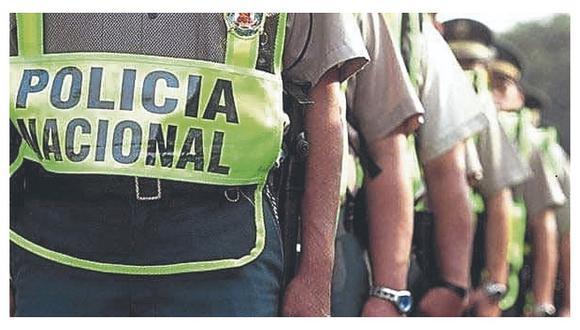 Los policías con coronavirus cumplirán la cuarentena respectiva donde disponga su comando. (Archivo)