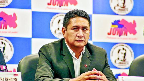 El bajo apoyo a Perú Libre de Vladimir Cerrón en Junín se debería a su pésima gestión en esta región (GEC).