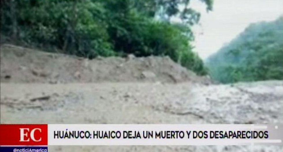 Las víctimas realizaban los trabajos de mantenimiento en la Carretera Central, cuando el alud los sepultó. (Video: América TV)