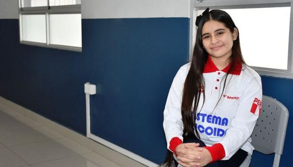 La joven estudiante Mónica Martínez se convirtió en la mejor matemática de América. (Andina)