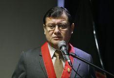 """Fiscal Chávez Cotrina: el Ministerio Público está """"viviendo de limosnas del Ejecutivo"""""""