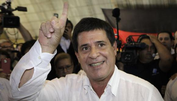 Horacio Cartes ganó comicios. (AP)