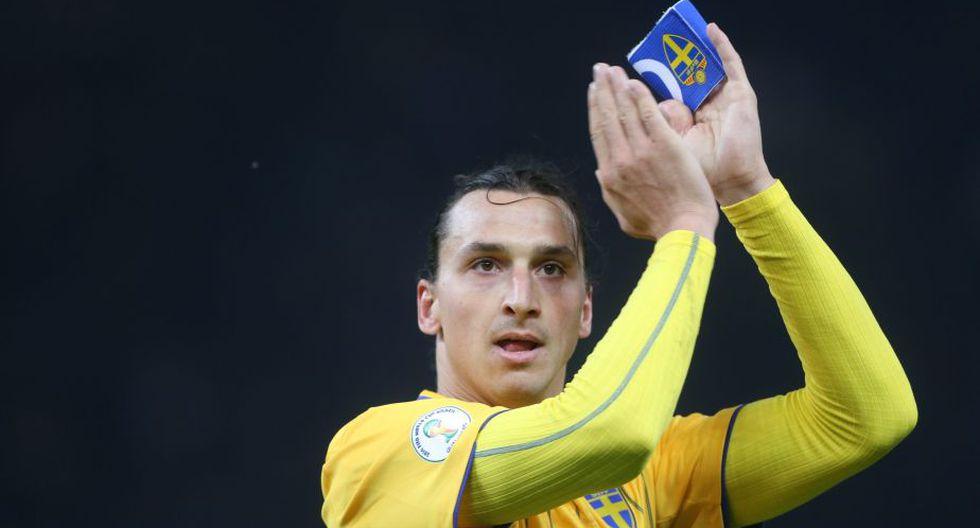 Zlatan Ibrahimovic ha sido varias veces capitán de Suecia. (EFE)