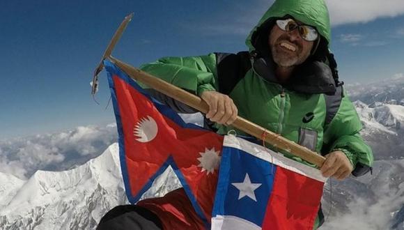 El montañista chileno, identificado como Rodrigo Vivanco, también perdió contacto durante el descenso del Kanchenjunga. (Foto: Facebook)