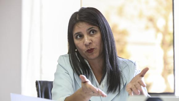 Silvana Carrión, procuradora ad hoc del caso Lava Jato, expresó su respaldo al Equipo Especial Lava Jato. (Foto: Karen Pérez Tarazona / GEC)