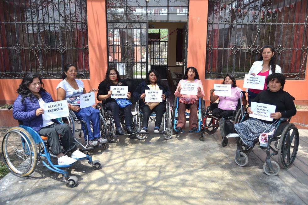 Mujeres con discapacidad (Foto: Difusión)
