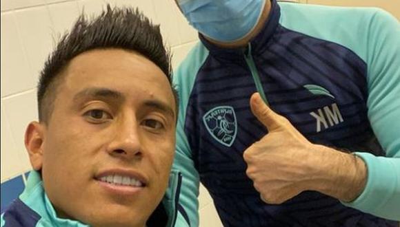 Christian Cueva llegó al Al-Fateh luego de desvincularse del Yeni Matalayaspor. (Foto: Instagram)