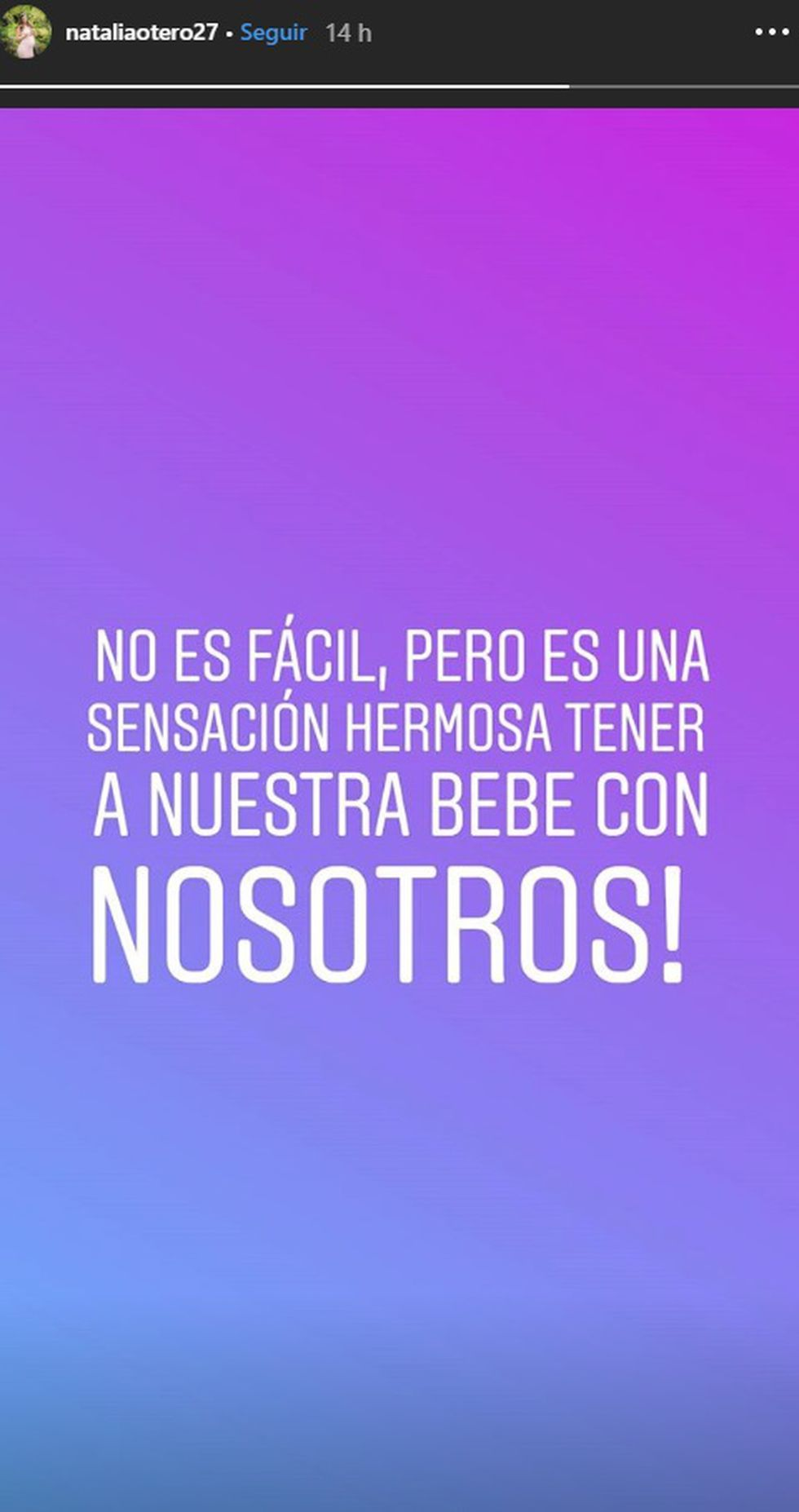 (Instagram Natalia Otero)
