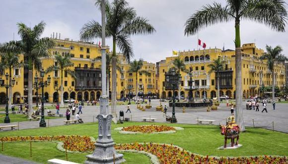 El Centro Histórico de Lima es uno de los puntos más tradicionales de la ciudad que hoy celebra 486 años de su fundación. (Foto: Archivo El Comercio)