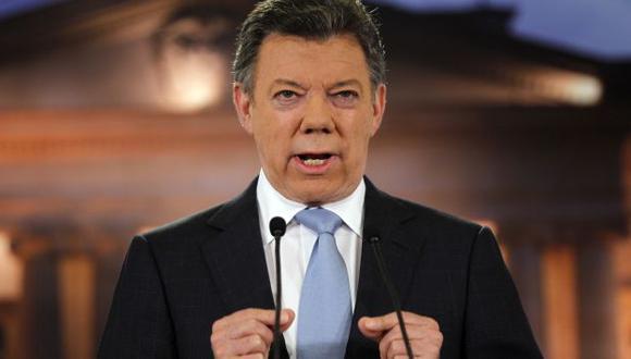 DIÁLOGO SERIO. Presidente Juan Manuel Santos cree que hay una oportunidad real para lograr la paz. (AP)