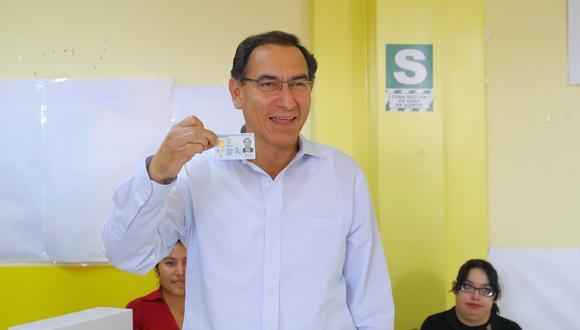 El referéndum fue anunciado por Vizcarra en su mensaje a la Nación del 28 de julio. El mismo consultó a la ciudanía sobre 4 proyectos de reforma política y judicial propuestos por el Ejecutivo. (Foto: GEC/ Video: América TV)