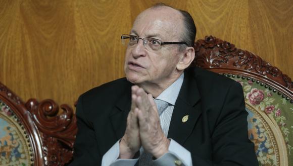 José Peláez emplaza a magistrado del TC. (Mario Zapata)