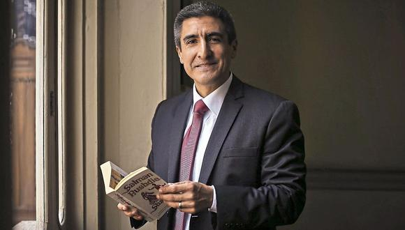 Alejandro Neyra: 'Los libros sobre fútbol han reemplazado a los libros de autoayuda'. (LuisCenturión/Perú21)