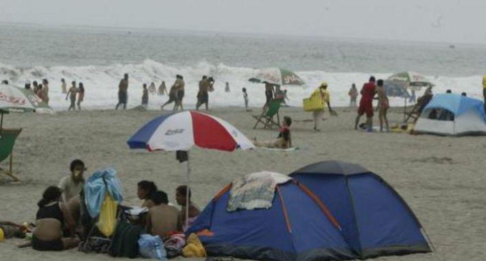 Es importante tener en cuenta estas recomendaciones para acampar en la playa este Año Nuevo. (GEC)