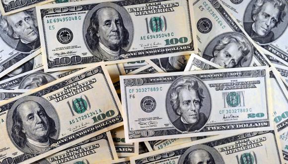 En el mercado paralelo o informal, el tipo de cambio se cotizaba a S/ 3.460 la venta. (Foto: AFP)