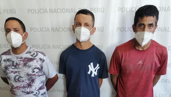 Los tres presuntos sicarios son investigados en la Depincri Callao.