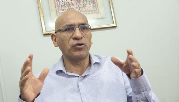 Waldo Mendoza se refirió a los pedidos para cambiar la Constitución Política. (Foto: Diana Chávez / GEC)