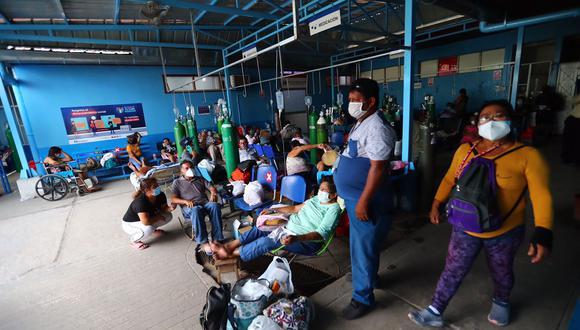El sistema sanitario peruano se vio superado por el avance de la enfermedad. (Foto: Hugo Curotto/ enviado especial)