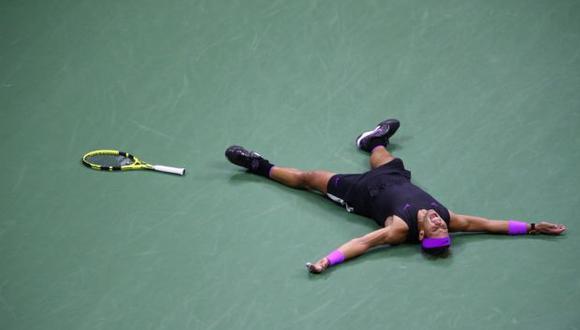 """Nadal sumó 19 títulos de Grand Slam tras reafirmar su jerarquía en el US Open y se aproxima al líder de los """"majors"""", el suizo Roger Federer, que acumula 20. (Foto: AFP)"""