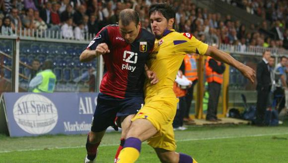 FUERZA, JUAN. Ha jugado los últimos tres partidos con la Fiorentina. Debe seguir así. (AP)