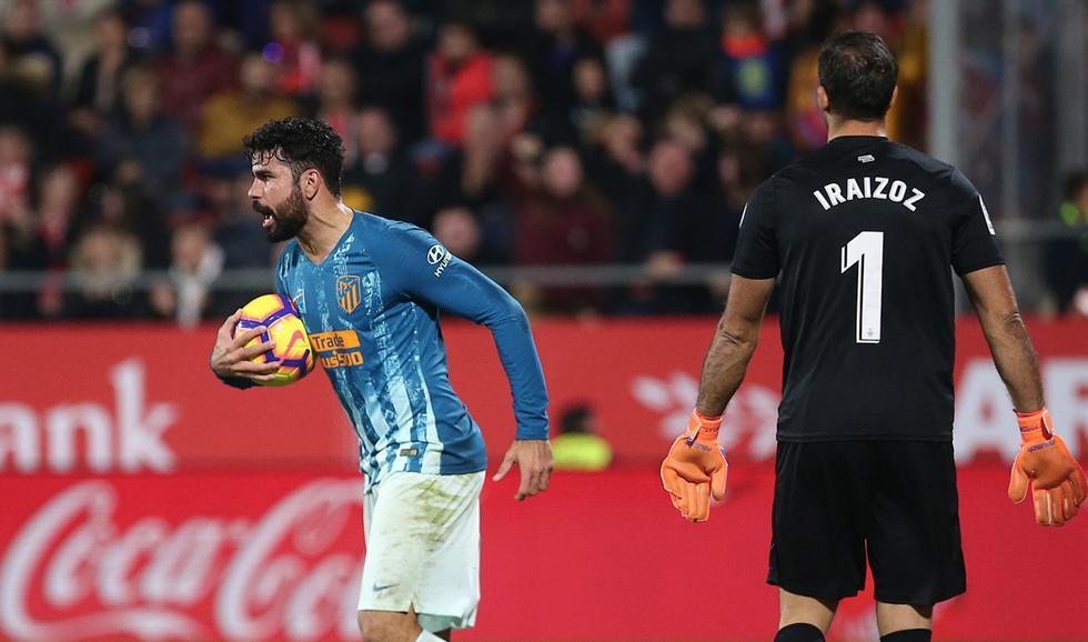 Atlético de Madrid empató 1-1 con Girona por la Liga Santander. (Twitter Atlético de Madrid)