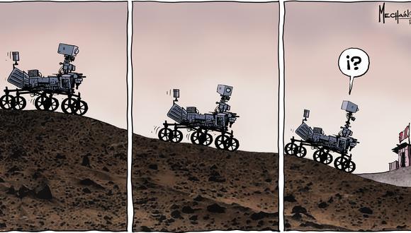 Marte. (Mechaín 3/03/2021)