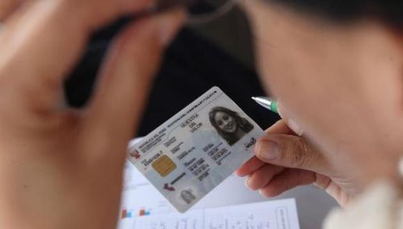 El DNI podrá ser utilizado para realizar transacciones. (Foto: GEC)