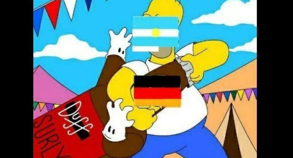 Argentina no pudo ganarle a Alemania en aquella vez