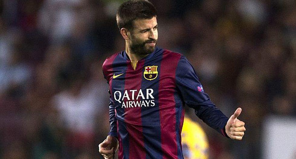 Gerard Piqué señaló que seguirá luchando para conseguir un sitio en el Barcelona. (EFE)