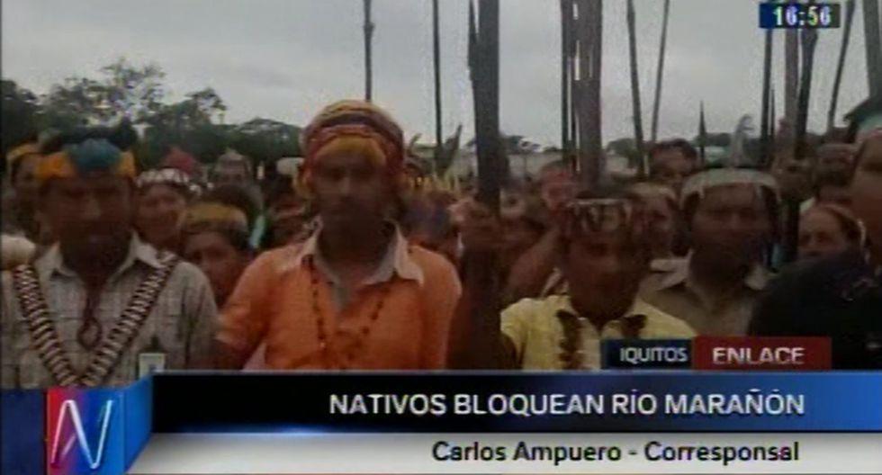 Comisión de la PCM propuso que los nativos sean los que viajen a Lima para que dialoguen con PPK. (Canal N)
