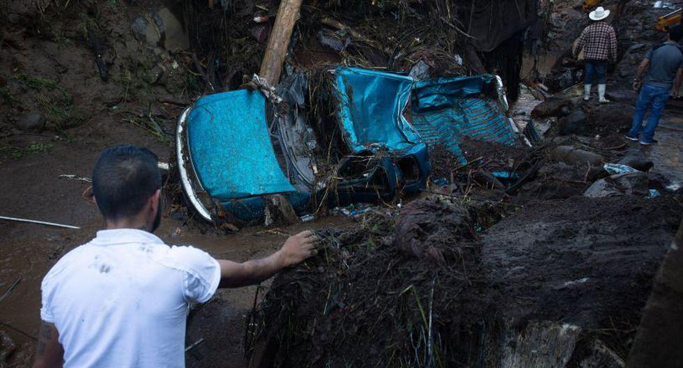 México: Al menos cinco muertos y nueve desaparecidos tras desborde de río   Foto: EFE