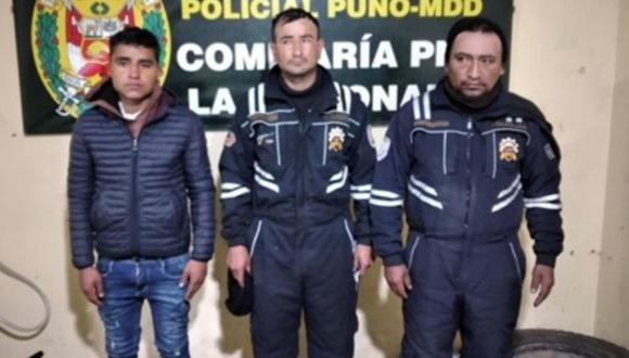 Puno: Policía detuvo a tres presuntos integrantes de la banda 'Los Topos de la Rinconada'.