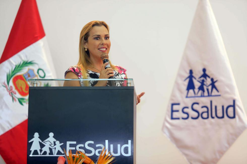 """Fiorella Molinelli: """"Sé que la labor no será sencilla, pero velaremos por la seguridad social"""". (Difusión)"""