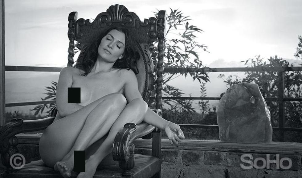 'Betty, la fea': Mira las fotos del desnudo de la actriz Ana María Orozco para Soho Colombia. (SoHo Colombia)