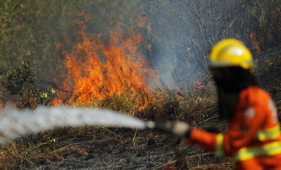 Desde hace dos semanas se registra el incendio forestal en algunos Estados de Brasil y Bolivia. (Foto: Reuters)