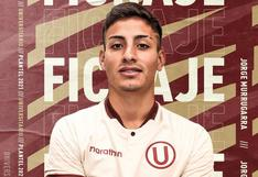 Universitario anunció contratación de Jorge Murrugarra
