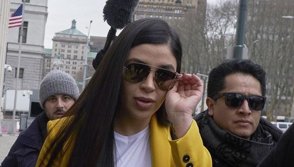 La esposa de El Chapo, Emma Coronel Aispuro, había sido vista en Brooklyn, Nueva York, Estados Unidos, el 11 de febrero del 2019. (Foto: EFE)