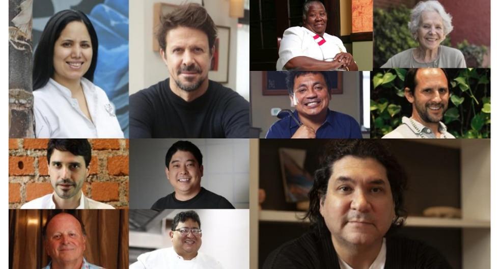Los rostros de la cocina peruana. (GEC)