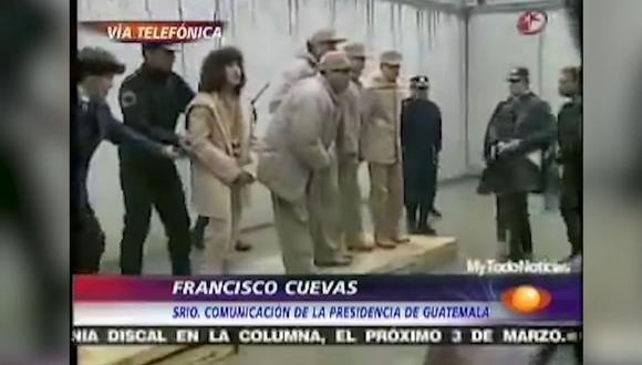 María del Rocío del Villar Becerra estaba acusada de ser responsable de delito contra la salud por posesión de cocaína y diazepam. (Captura de video - Televisa)