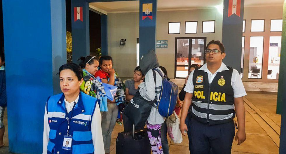 Migraciones prohibió el ingreso a cuatro ciudadanas venezolanas que intentaron pasar como gestantes. (Difusión)