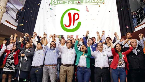 La posibilidad de tener una bancada en el Congreso ya casi está diluida para Juntos por el Perú (Difusión).