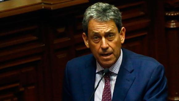 Alfredo Thorne, ministro de Economía y Finanzas. (Luis Centurión)